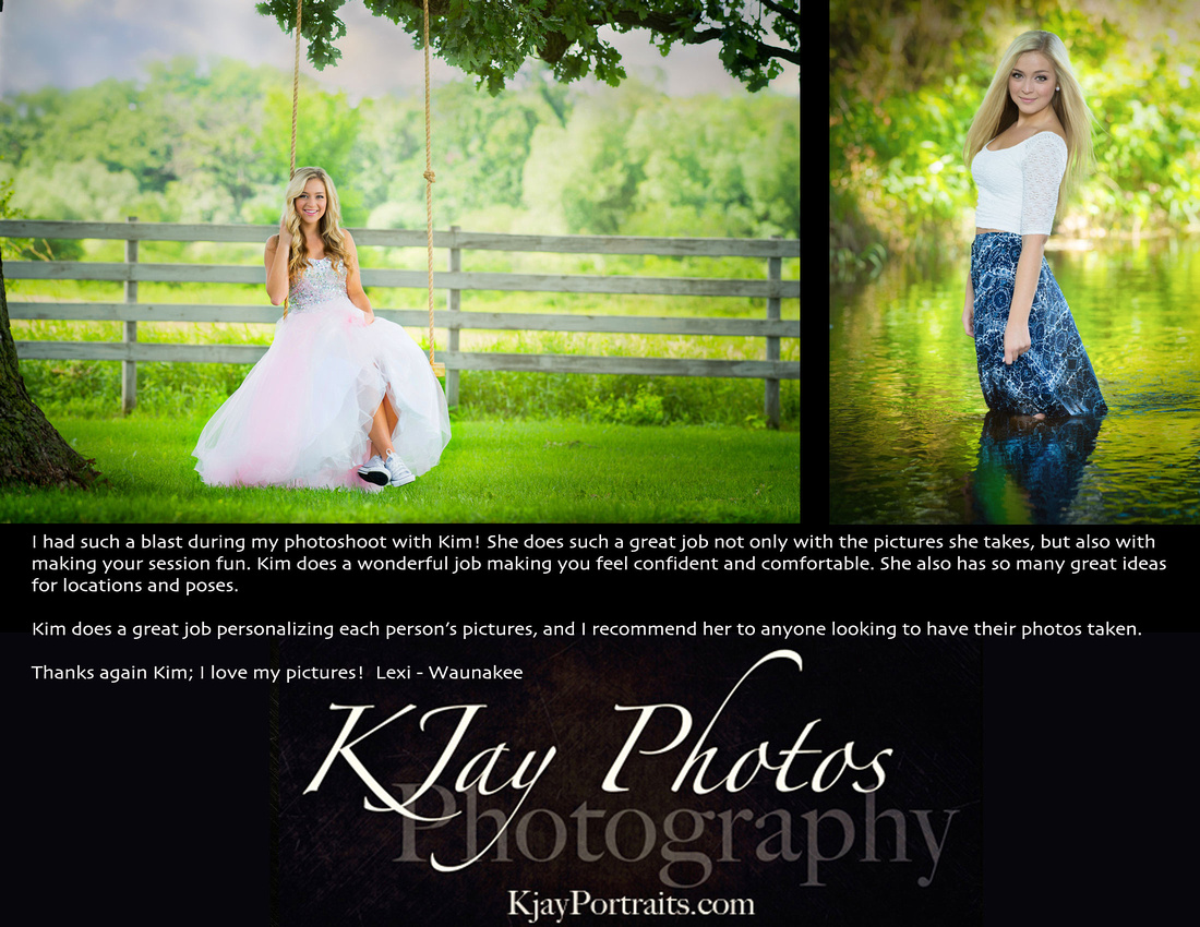 K Jay Photos Photography Review.  Madison WI Photographer specializing in high school senior pictures.