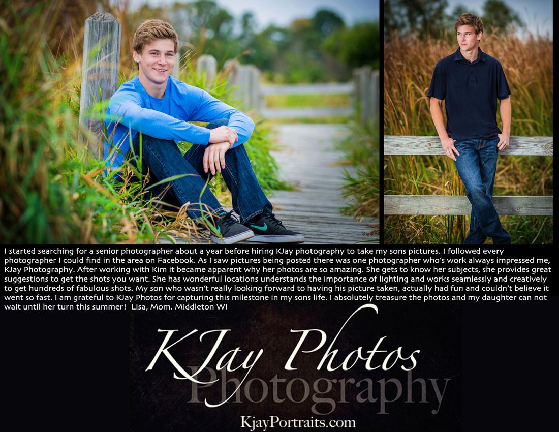 KJay Photography Reviews.  Middleton WI Photographer.